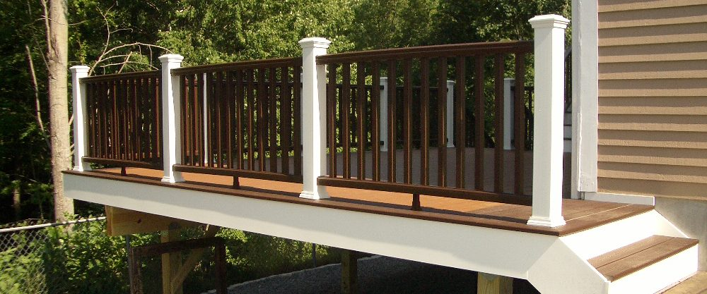 Finished Deck Railing