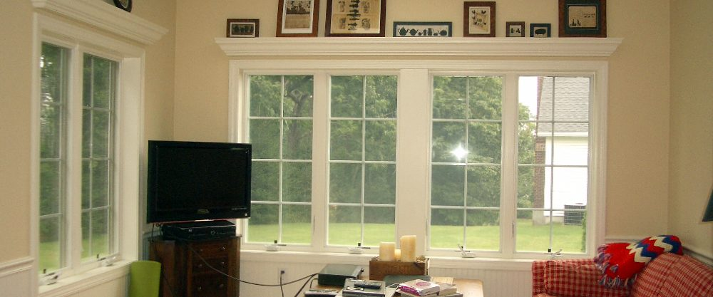 New Windows and Moldings